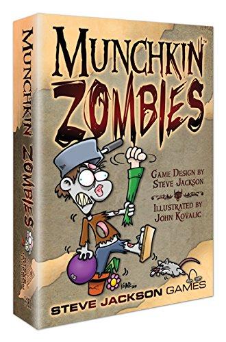 Steve Jackson Games 1481 Munchkin Zombies - Juego de Cartas (edición Inglesa)