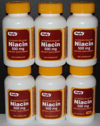 Rugby Niacin Extended Release 500mg Caps Buy Online In Dominica At Desertcart