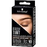 Schwarzkopf Brow Tint - Tinte De Cejas Castaño Oscuro Tono 4.1 – Coloración permanente - Color natural y duradero de hasta 4 semanas