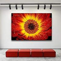 家の装飾花の写真ポスターモダンな装飾絵画リビングルームの壁の芸術キッズルームシンプルな写真40x50cmフレームレス