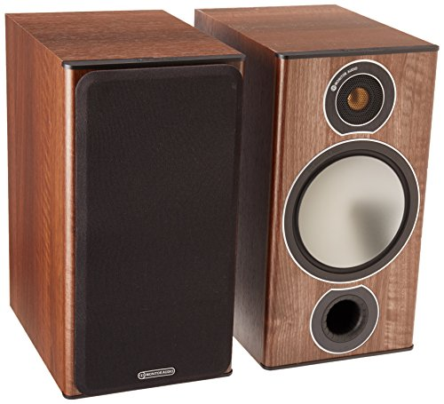 ALTAVOCES MONITOR AUDIO BRONZE 2 NOGAL (PAR)