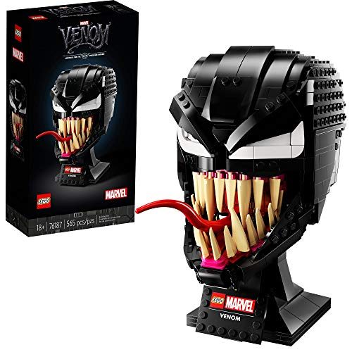 LEGO Marvel Spider-Man Venom 76187 Collectible Building Kit for-Adults...