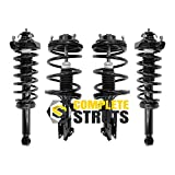 COMPLETESTRUTS - Front & Rear Complete Strut Assemblies with Coil Springs Replacement for 2004-2011 Mitsubishi Galant - Set of 4