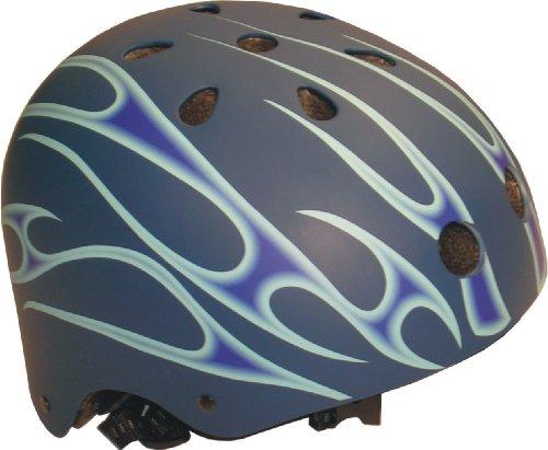 Ideale Helm für BMX Freestyle, Inliner, Skateboard, mehrfarbig, 54-56 cm, 67111
