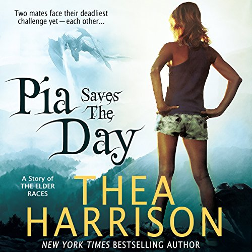 Pia Saves The Day cover art