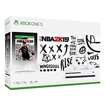 Xbox One S 1TB Console - NBA 2K19 Bundle  Discontinued