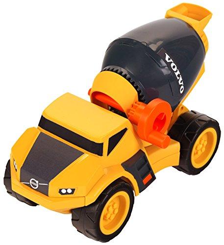 Theo Klein 2417 Volvo Power Betonmischer, Maßstab 1:24, Spielzeug