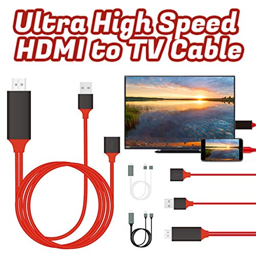 Fnsky - Cable HDMI de Alta Velocidad HDMI a TV, Adaptador de Cable ...