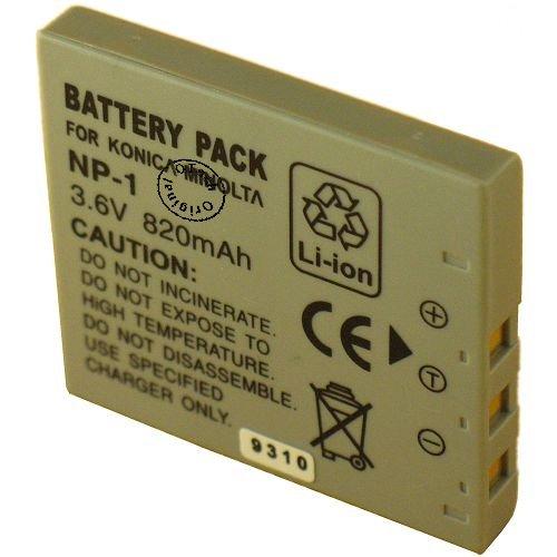 Otech D111SN - Batería para cámara de Fotos Digital de Tipo Konica Minolta NP-1 (3,6 V)
