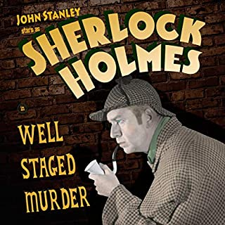 Sherlock Holmes: Well Staged Murders audiobook cover art
