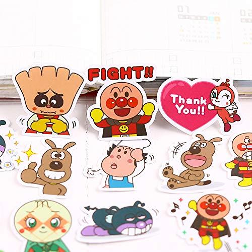 YRBB 40 stuks creatieve schattige kawaii zelfgemaakte Doca II hond dier scrapbooking stickers / decoratieve stickers / DIY handwerk fotoalbums