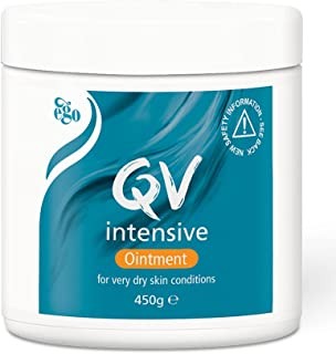 QV Intensive Ointment 450g, Helps to Protect and Soothe Dry and Sensitive Skin, Sting Free, Ideal for Drier Areas