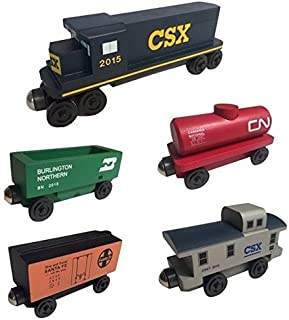 Whittle Shortline Railroad - Manufacturer CSX Railway GP-38 Diesel 5pc. Set