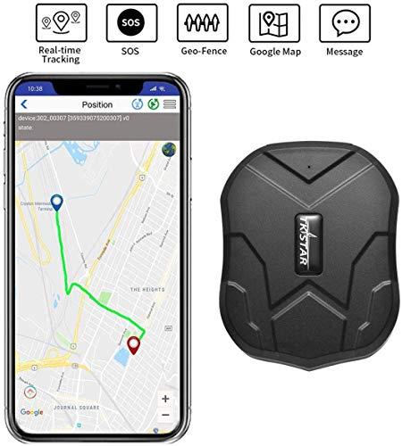 Mini wasserdichtes Ortungsgerät mit leistungsstarkem Magnet Long Standby GPS Tracker Locator für Kinder Senioren Haustiere Autos