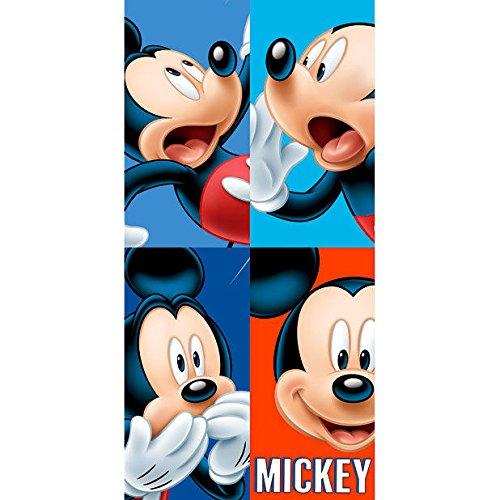 Serviette Mickey Disney Faces en coton