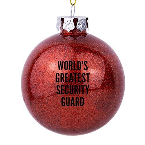 Adornos de Navidad, más grande de la guardia de seguridad del mundo...