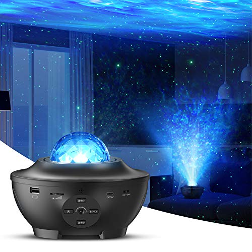 Star Light Shows with Bluetooth Speaker Remote Control Night Light