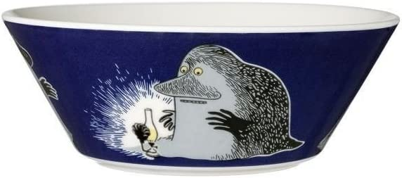 Arabia Finland Moomin Spring new service work one after another Bowl The Groke -