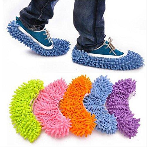 Générique Vert, 2 pcs : 2 pcs/lot Nettoyer la Chaussure Coque Lazy multifonction/eau pour nettoyer le sol de chaussons Définit Housecleaning Nettoyage Supplies7zza286