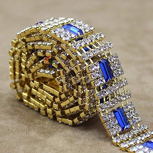 royal blue crystal browband - 3