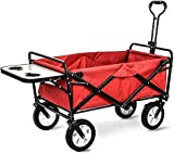 MTYLX Carrito de Almacenamiento Multifuncional, Carrito de Compras Multifunción, Carrito Plegable para Acampar en el Jardín, Diseño de Escritorio Pequeño, Camiones de Mano de Gran Capacidad, Carrito