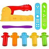 Kare & Kind Set of 9 pcs Smart Dough Tools Kit with Extruder Machine/Extruder Tools (Extruder Machine + Extruder Tools)
