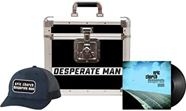 Eric Church - Desperate Man Exclusive Limited Edition Vinyl LP With Exclusive Road Case and Hat