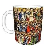 All-Saints of Homily for The 6th Sunday of Easter - Taza de café reutilizable resistente al calor - Taza de café de cerámica de 325 ml para té de café, regalo perfecto para hombre y mujer