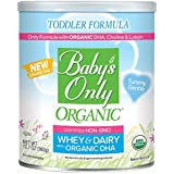 Baby's Only Dairy Whey Protein with DHA Toddler Formula - Non GMO, USDA Organic, Clean Label Project Verified, 12.7 Oz (Pack of 6)