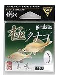 がまかつ(Gamakatsu) 針 極(キワメ)タナゴ 10本 茶 67412