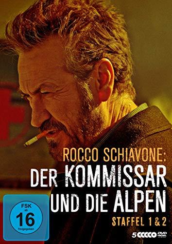 Rocco Schiavone: Der Kommissar und die Alpen - Staffel 1 & 2 [5 DVDs]