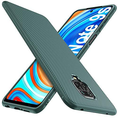 iBetter Kompatibel mit Xiaomi Redmi Note 9S Hülle, Ultra Thin Stoßfest Hülle Handyhülle Schutzhülle Shock Absorption passt Kompatibel mit Xiaomi Redmi Note 9 Pro Hülle Smartphone,Grau