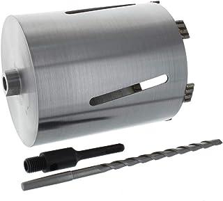 Diamant borrkrona SDS-plus upptagning och centrumborr användningslängd 180 mm Ø 182 mm betongborr kärnborr