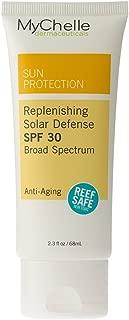 MyChelle Dermaceuticals Replenishing Solar Defense SPF 30- Zinc Oxide Based Broad-Spectrum Suncreen, Anti-Aging Broad Spectrum Protection, Vegan and Cruelty Free, 2.3 fl oz