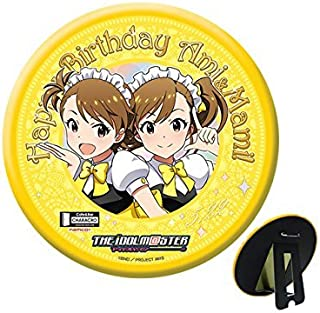 CHARACRO feat.アイドルマスター 双海亜美 双海真美 生誕祭記念 スタンド缶バッジ