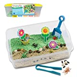 Creativity for Kids Sensory Bin: Garden and Critters - Pretend Play, Flower Garden Preschool Toys