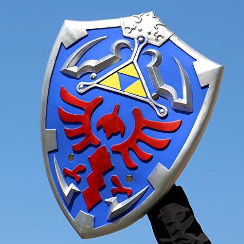 Dimensioni: 61 * 40CM Zelda link Sky Shield 1: 1 Cosplay scudo armi