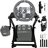 OldFe G920 Steering Wheel Stand Per Logitech G27 G25 G29 E G920 Volante Con Supporto V2 Supporto Giochi Solo...