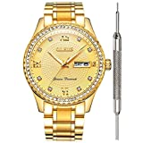OLEVS Gold Watches for Men Wat...