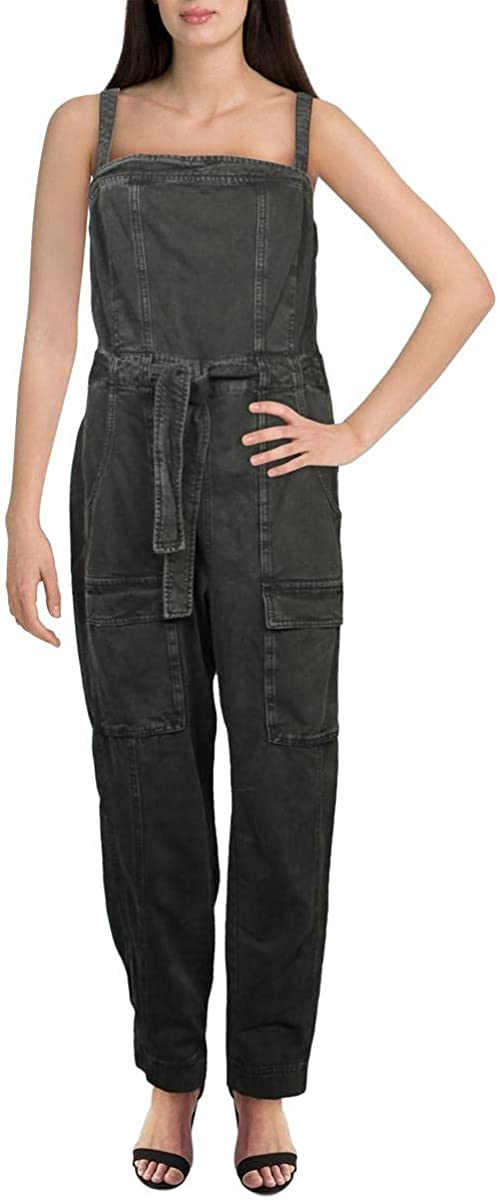 Brand new Free People Womens Go NEW before selling West Jumpsuit Utility Waist Tie