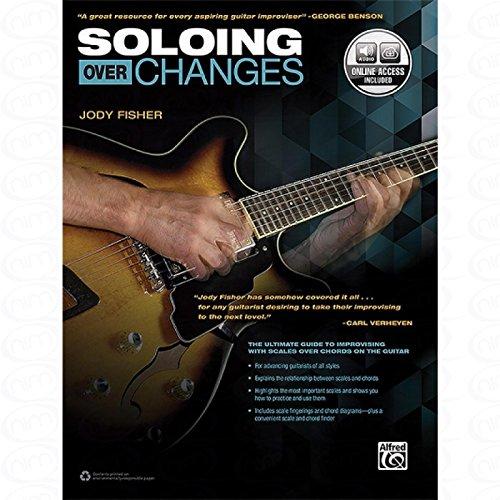 Soloing over changes - arrangiert für Gitarre - mit Tabulator [Noten/Sheetmusic] Komponist : FISHER JODY