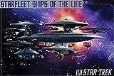Star Trek- Ships Of The Line Poster 36 x 24in