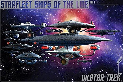 Star Trek Poster Starfleet Ships of the Line (91,5cm x 61cm)