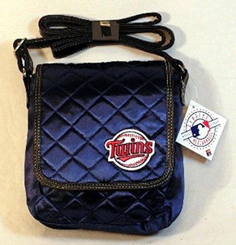 Minnesota Twins Licensed Navy Quilted Purse Handbag
