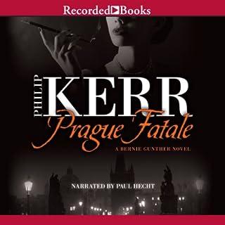 Prague Fatale audiobook cover art