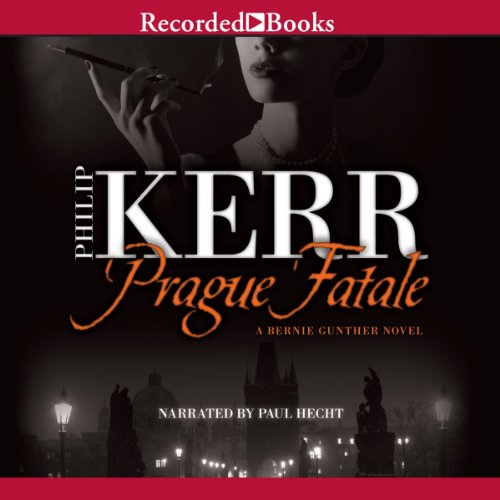 Prague Fatale audiobook cover art