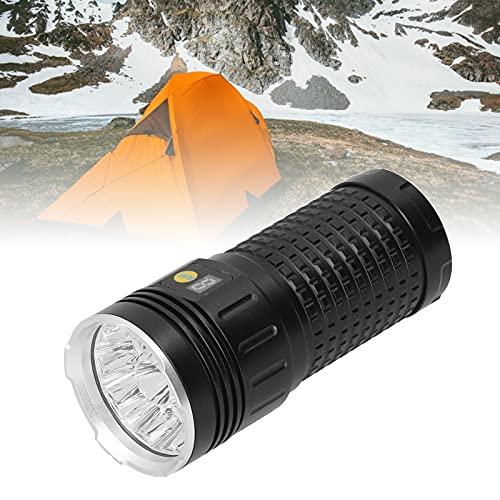 minifinker Antorcha LED, Antorcha de Bolsillo Fuerte y Duradera Conveniente y práctico para Escalada, Senderismo, Caza