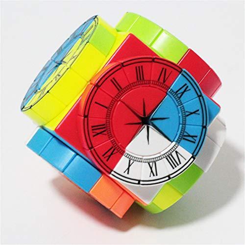 Cubo mágico Juego del Rompecabezas, Cubo de la Velocidad Time Machine Cubo Extranjero rápida Smooth vuelva sólida Puzzle Cubo Ecológico Material Durable Fácil para descomprimir de Competencia