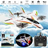 Artudatech WLtoys XK X450 RC Airplane Brushless 2.4G 6CH 3D/6G LED Fixed Wing RTF