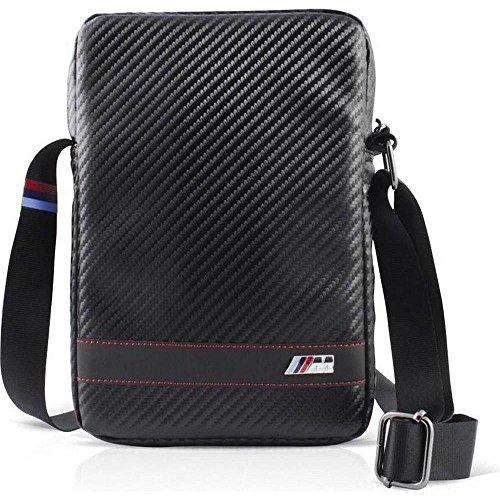 Price comparison product image BMW M Collection Travel Bag Black Stripe for iPad Air,  Carbon Effect (BMCBTBD5BL)